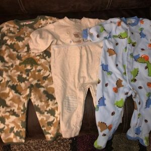 Baby Boys Sz 6-9M 1 pc PJ's and Outfits